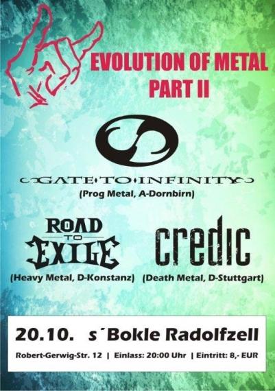 Flyer Evolution Of Metal II